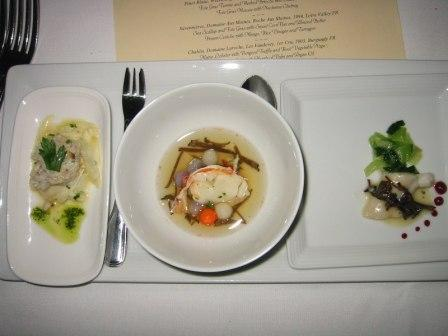 crab, lobster and turbot, oh my!